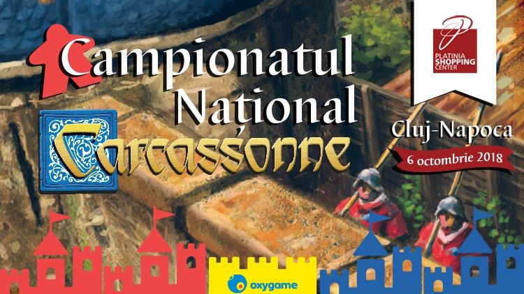Campionatul national de Carcassonne 2018 - joc de societate